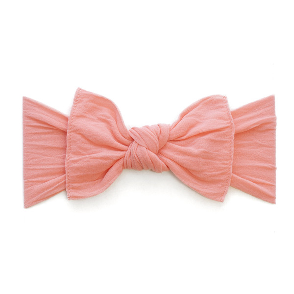 Baby Bling Bow Knot Headband In Coral Shop Soft
