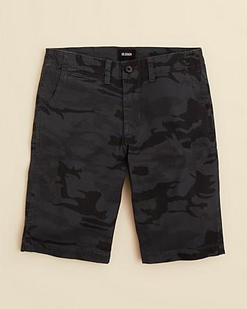 Hudson Camouflage Shorts