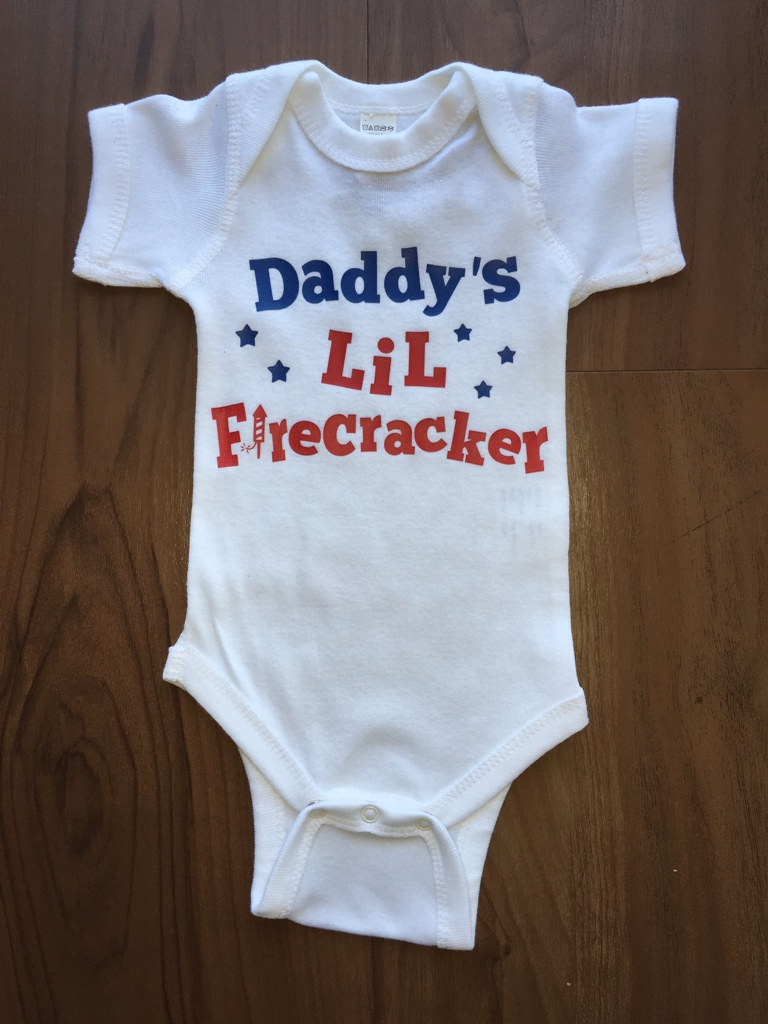 Daddy's Lil Firecracker