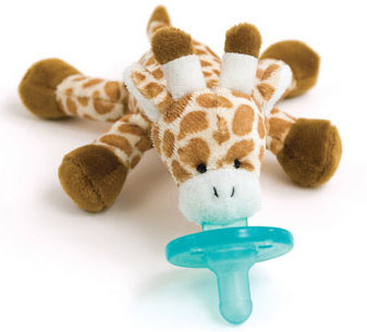 Wubbanub Baby Pacifiers Are Soothie Pacifier Attached To A