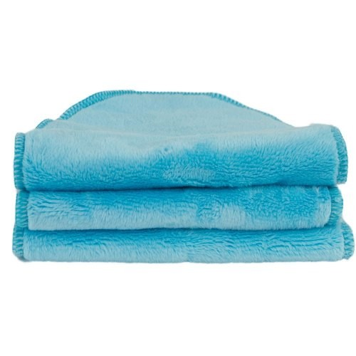 Petals Baby Washcloths - Turquoise