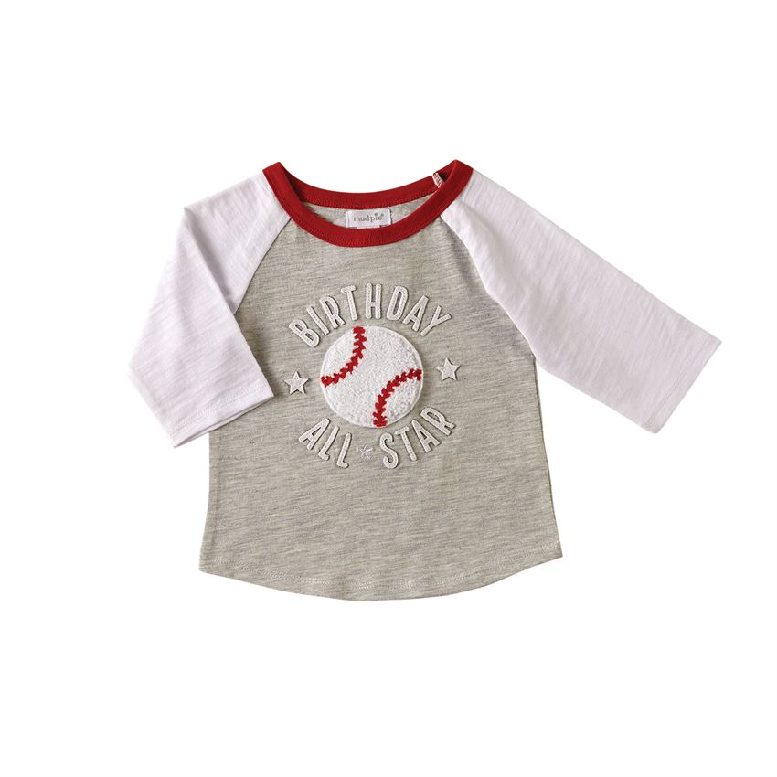 Mud Pie All Star Birthday T-Shirt - Two