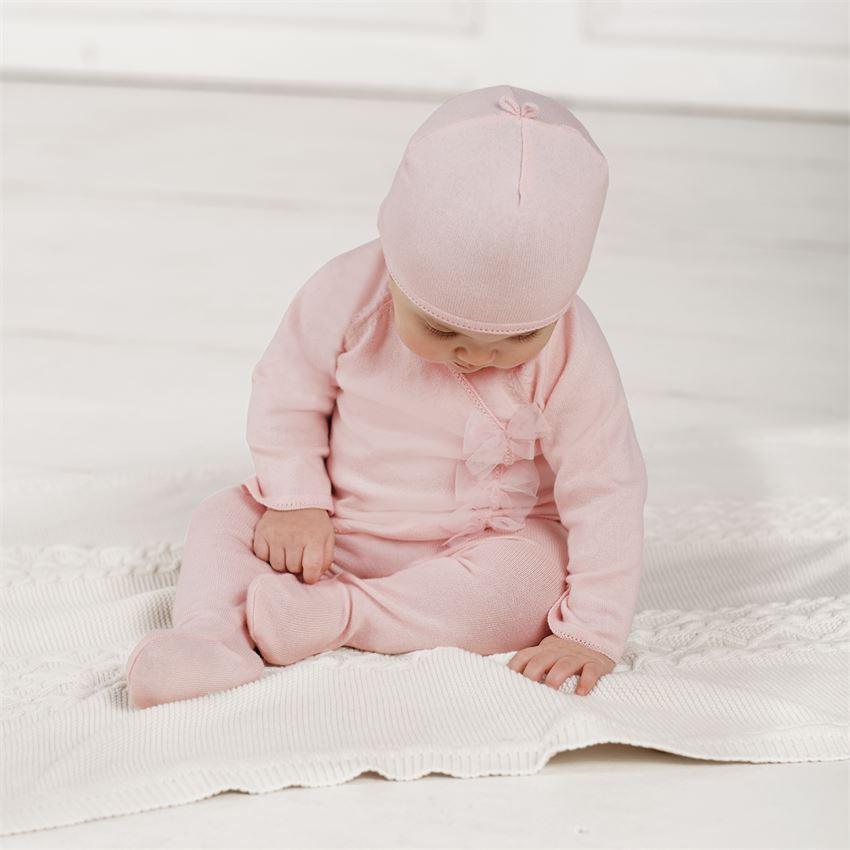 Mud Pie Pink Knit Kimono Take Home Set | Hospital Outfits for Sweet ...