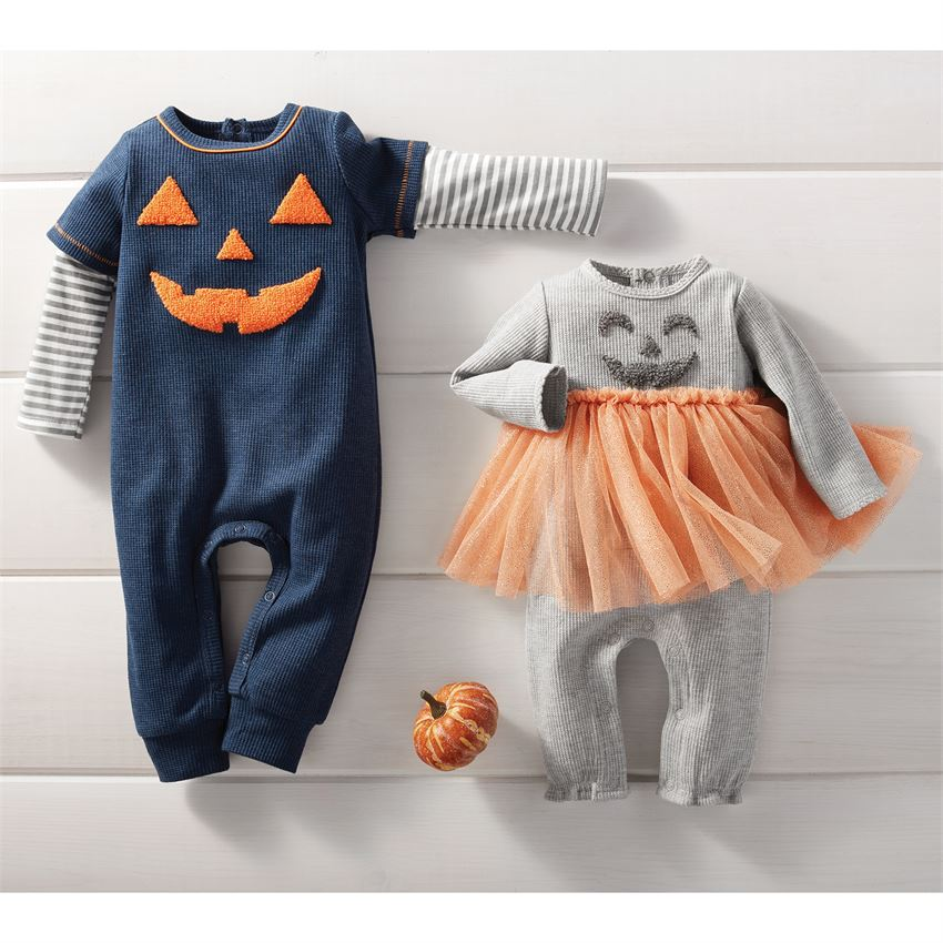 Mud Pie Jack O Lantern One Piece