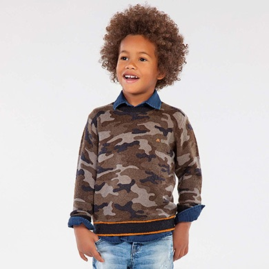 Mayoral Camo Sweater
