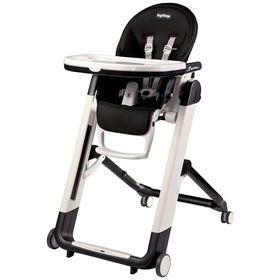 Peg Perego Siesta High Chair - Licorice (Black Leather)