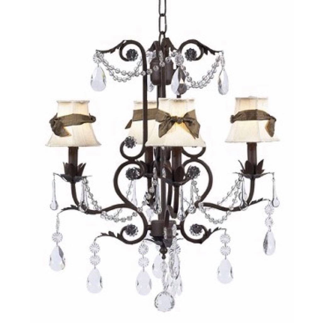 Valentino Chandelier Mocha Bright Idea