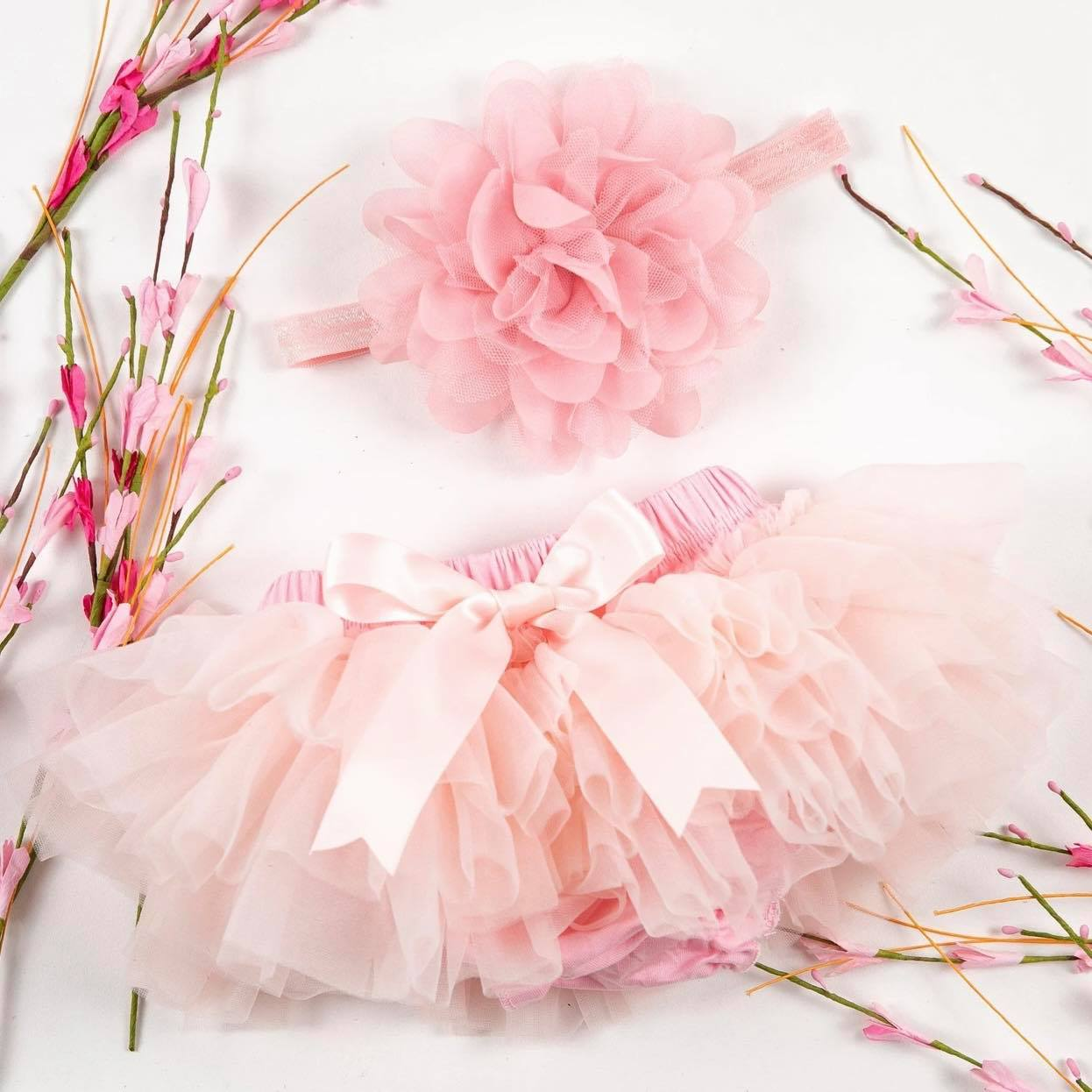 Light Pink Tutu & Headband