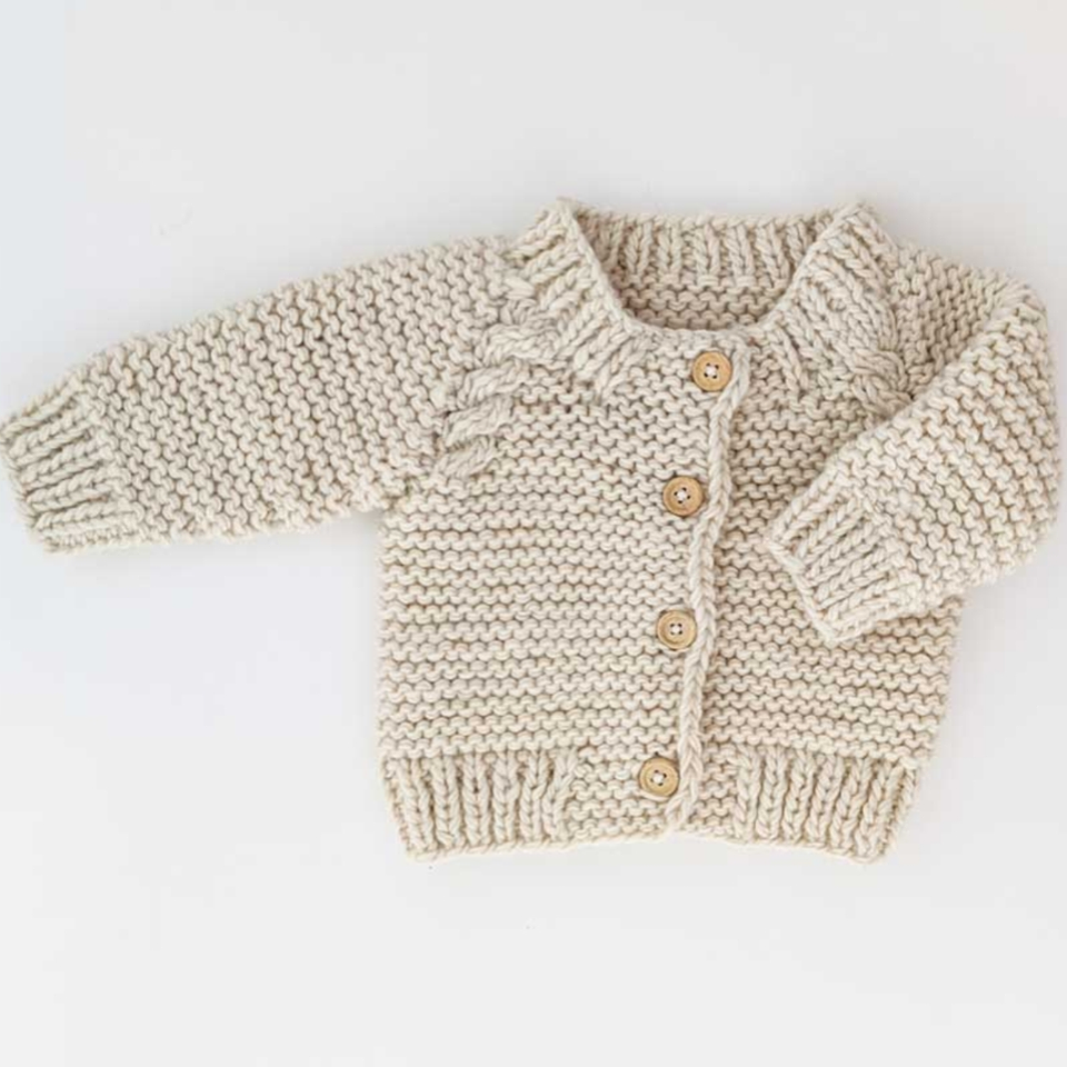 Knit Cardigan - Natural