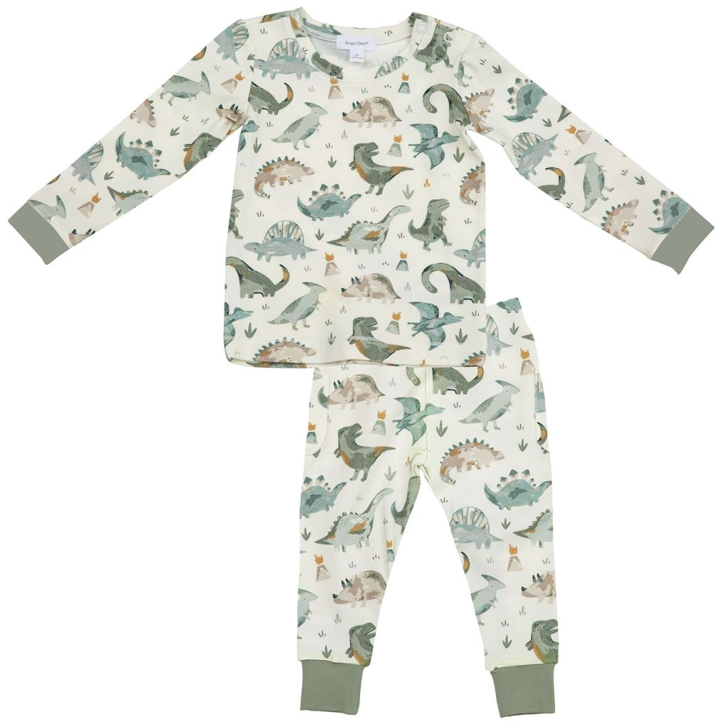 Crayon Dinosaur Lounge Wear Set