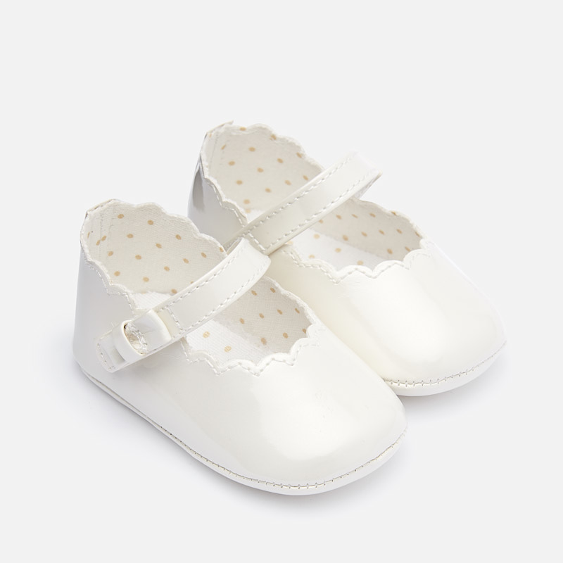 Mayoral White Maryjanes