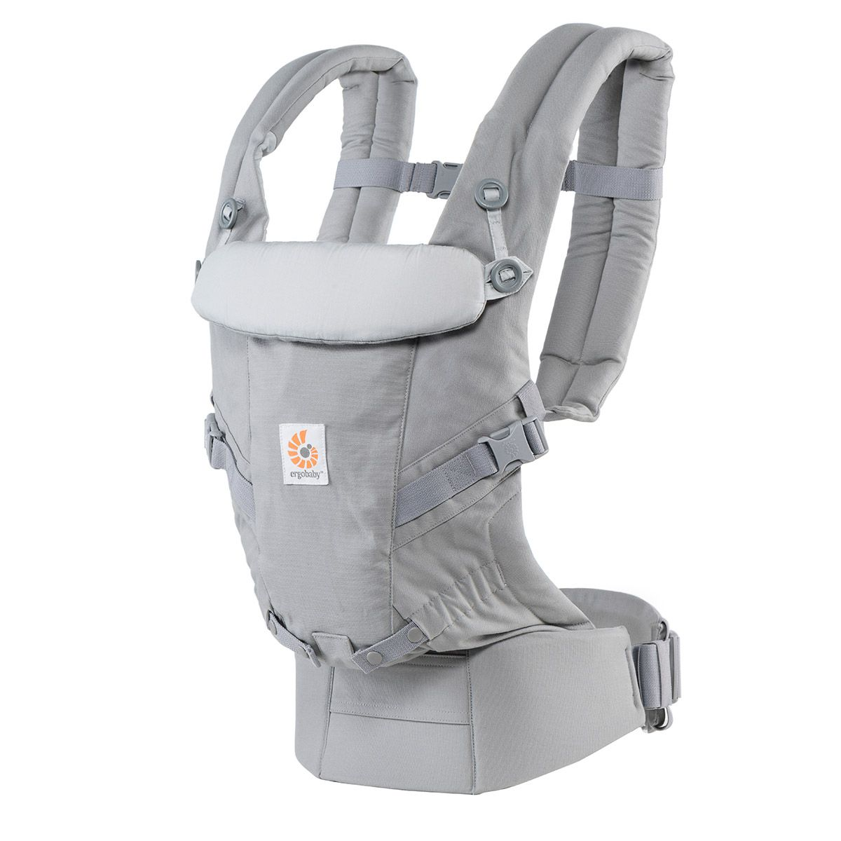 Ergo Adapt Baby Carrier In Pearl Grey Carries Newborn S
