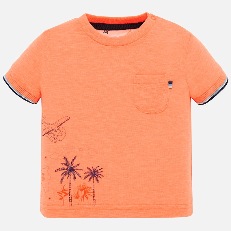 Orange Palm Tree Shirt