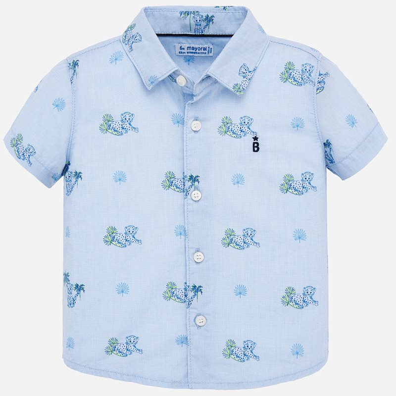 Baby Boy Blue Tiger Shirt