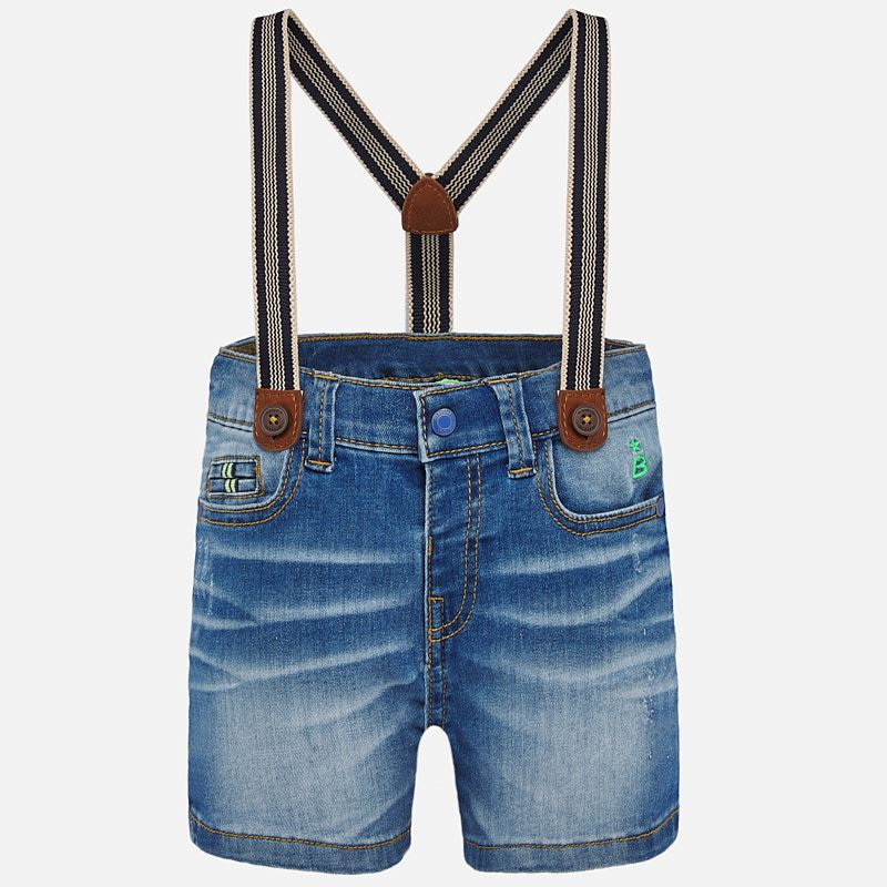 Bermuda Suspender Shorts