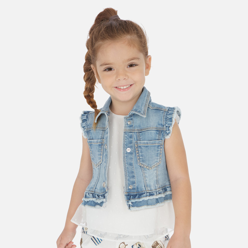 Denim Texan Vest