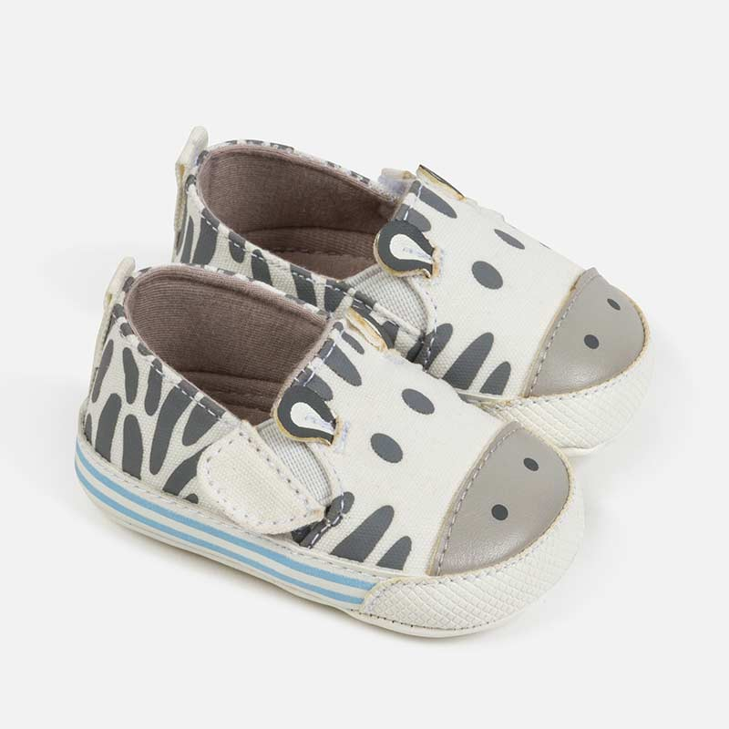 Zebra Baby Shoes