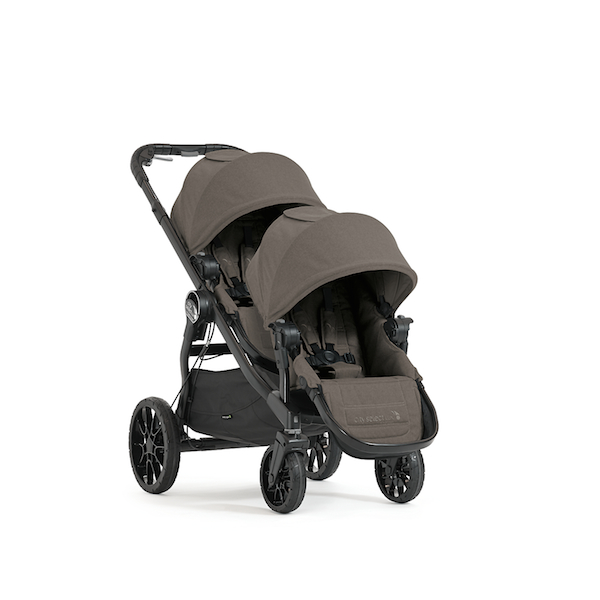 Baby Jogger City Select Lux In Taupe The Lightest Double