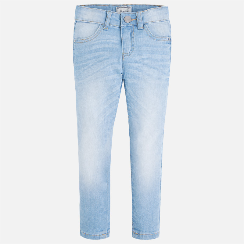 Mayoral Girl S Skinny Jeans In Light Wash Quality Girls