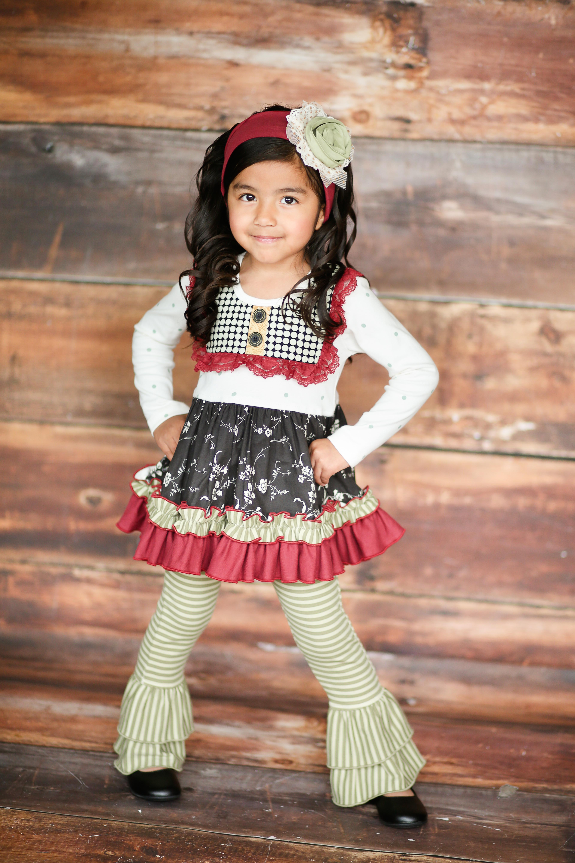 Giggle Moon Fall 2017 Precious Ruby Stella Set