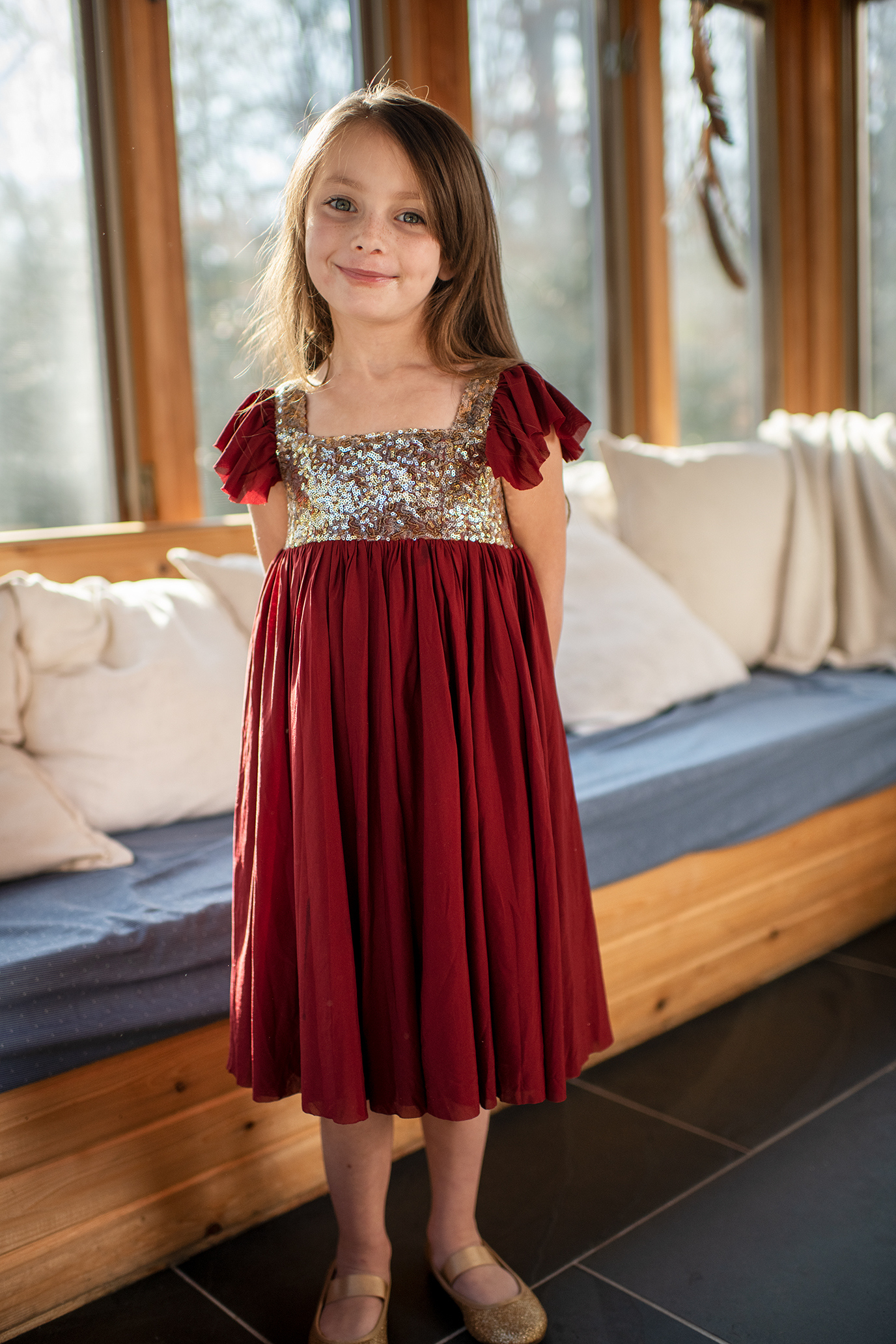 Shimmer Holiday Dress