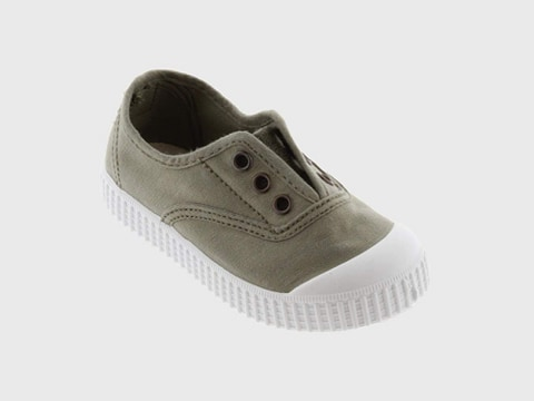 Aloe Washed Canvas No Lace Shoes
