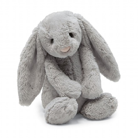Oh so cuddly soft Bashful Bunny from Jellycat | SugarBabies Blog - Bunnies & Bow Ties