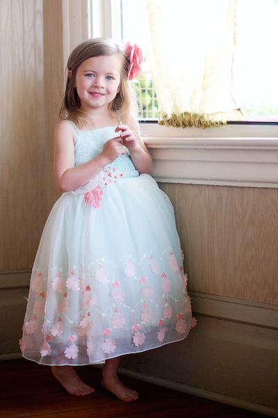 Bunnies & Bows - Magpie & Mabel Bellamy Dress in Aqua | SugarBabies Blog