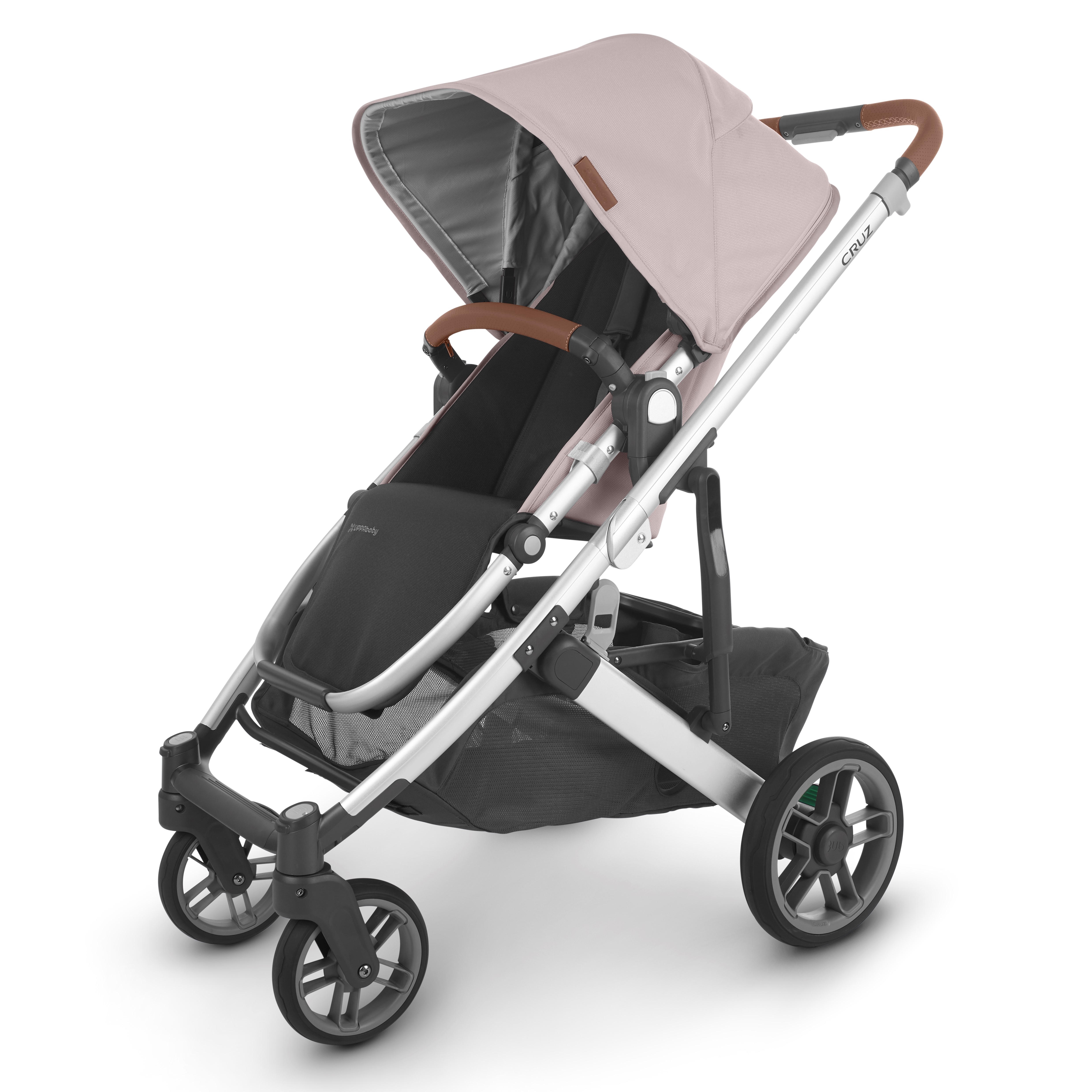 2020 UPPAbaby Cruz V2 Stroller - Alice (Dusty Pink/Silver/Saddle Leather)