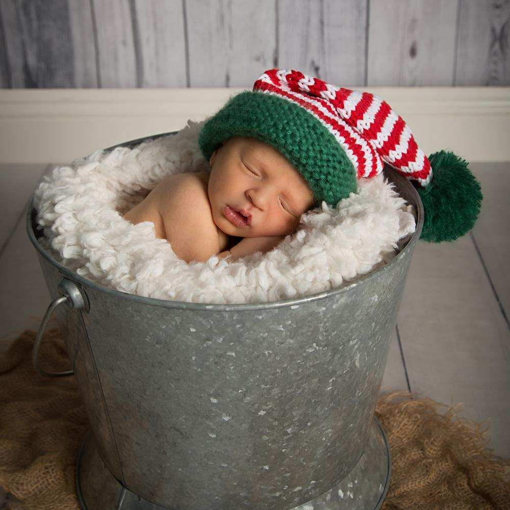 5a2d13365 Huggalugs Candy Cane Stocking Hat