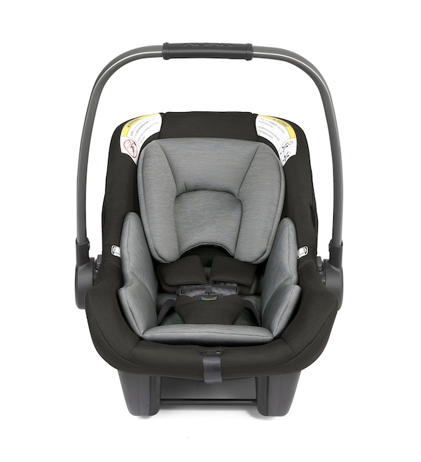 new nuna pipa lite infant car seat in ebony black shop the lightest car seat on the market at. Black Bedroom Furniture Sets. Home Design Ideas