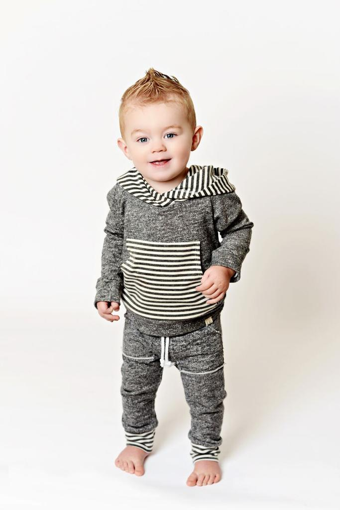 lulu roo dark grey jogger outfit find cute terrycloth jogger