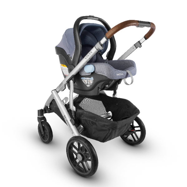 2018 Uppababy Vista Travel System In Gregory Amp Silver With