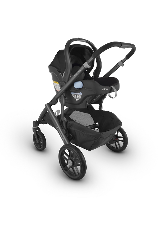 2018 Uppababy Vista Travel System In Jake Black Amp Silver