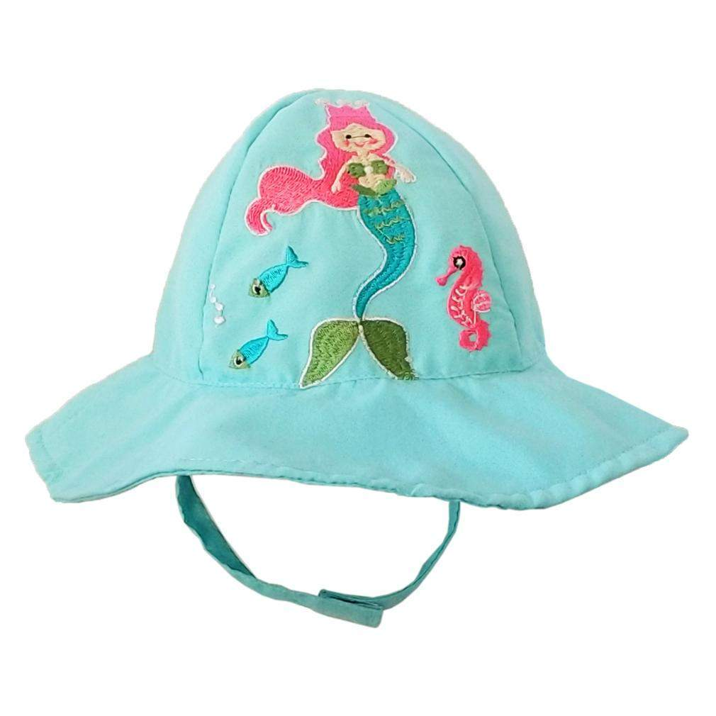 Home   Clothing   Accessories   Trendy Girl Outfits   Shop Girls Clothing  by Size   Girl Outfits 0-12 Months   Huggalugs Mermaid Sun Hat eacb210eb35