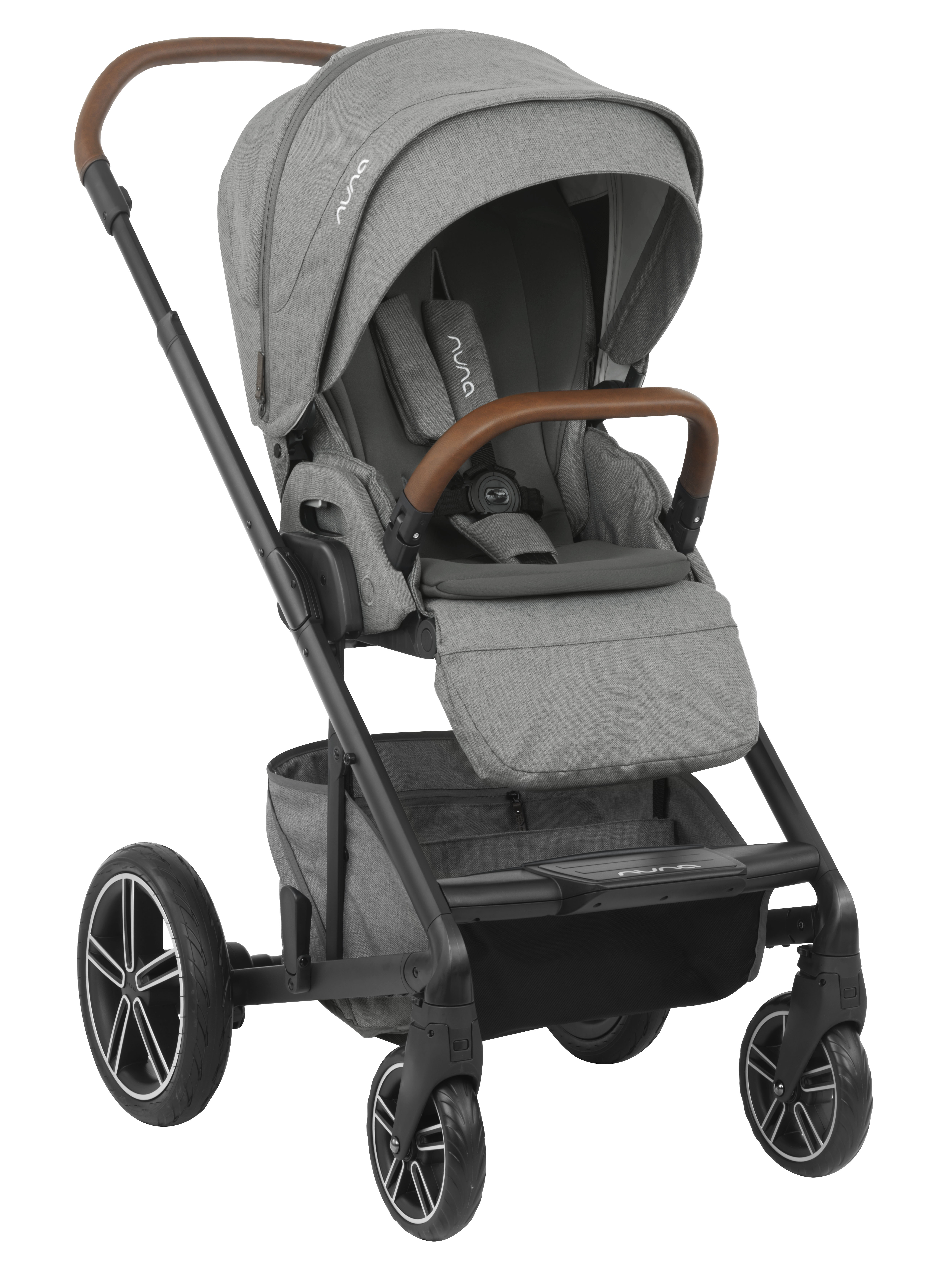 The New 2019 Nuna Mixx In Granite Shop Luxury Strollers