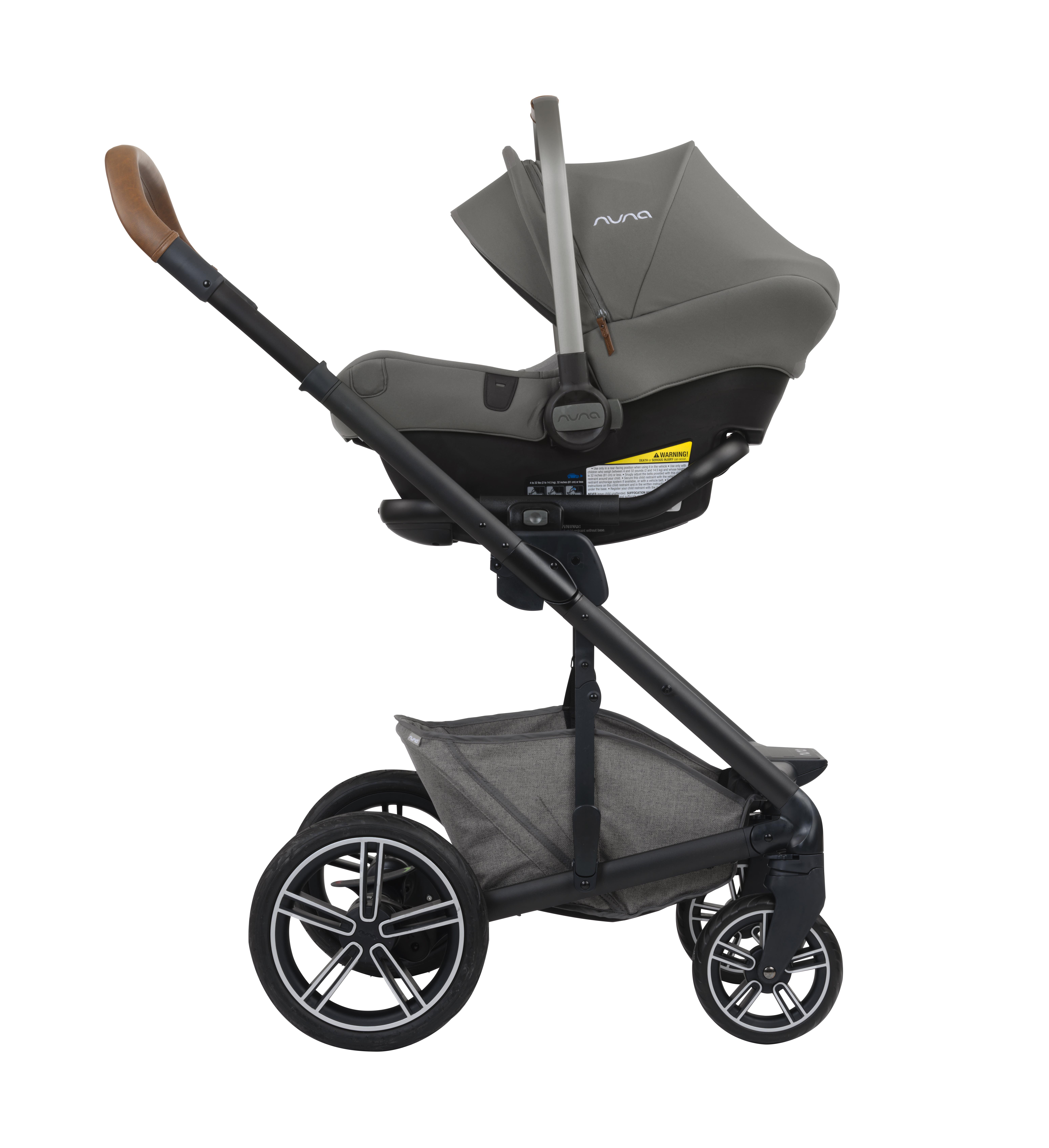 Nuna Pipa Lite Infant Car Seat In Granite Shop The