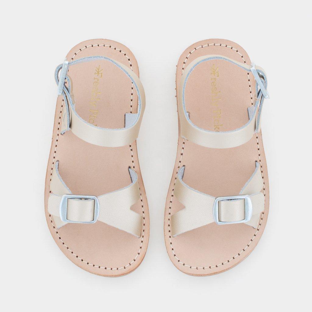50c992d47 Freshly Picked Platinum Carmel Sandal