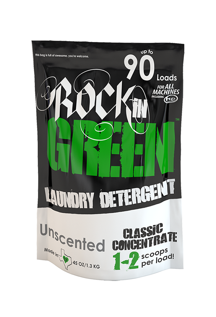Rockin Green Classic Rock Detergent Unscented Laundry