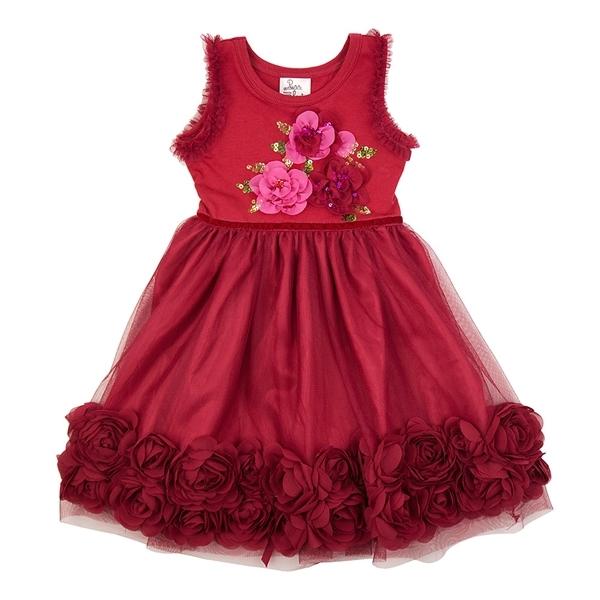 efdbe18ef Haute Baby Ruby Sparkle Dress