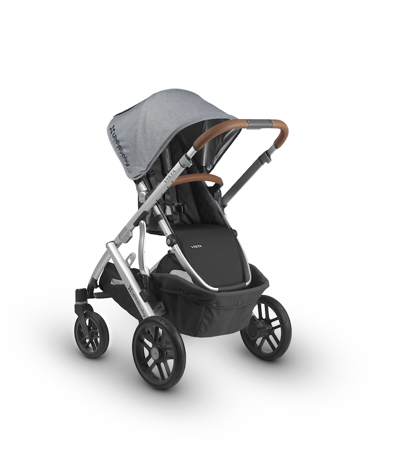 2018 UPPAbaby Vista in The Boutique Exclusive Gregory with Leather ...