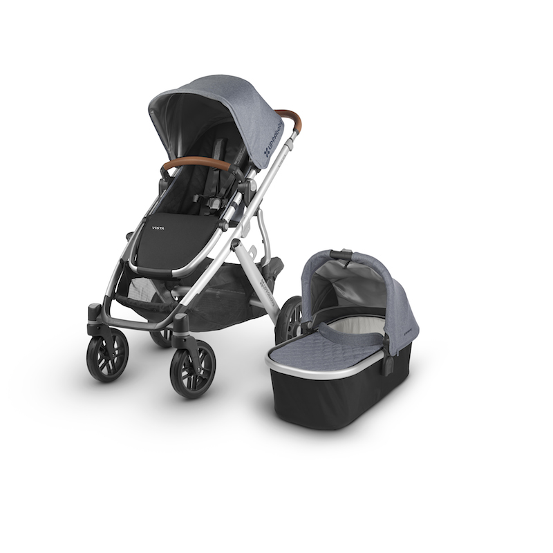 2018 Uppababy Vista In The Boutique Exclusive Gregory With