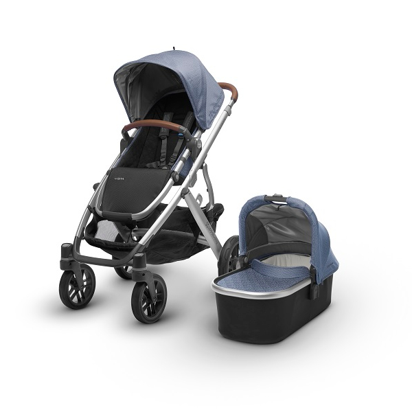 2018 Uppababy Vista Travel System In Henry Amp Silver With