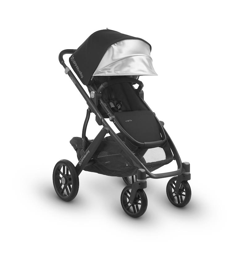 2018 UPPAbaby Vista in Jake Black | With Loads of New Features this ...