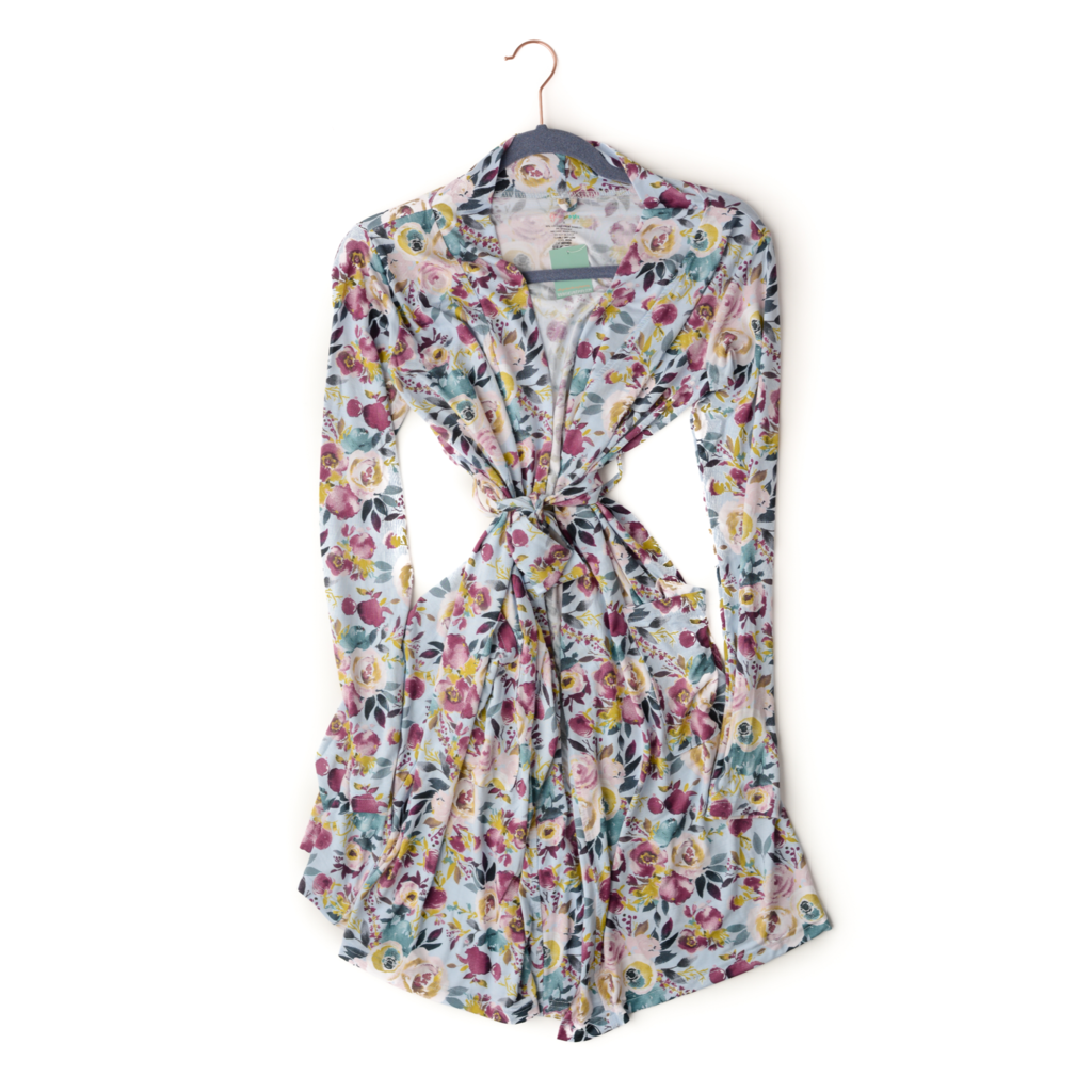 Mommy Robe - Floral