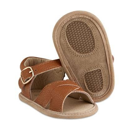 Tawny Split-Soled Leather Baby Sandals
