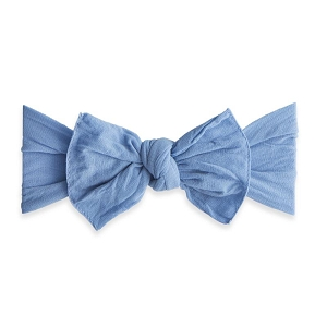 Bow Knot Headband - Denim