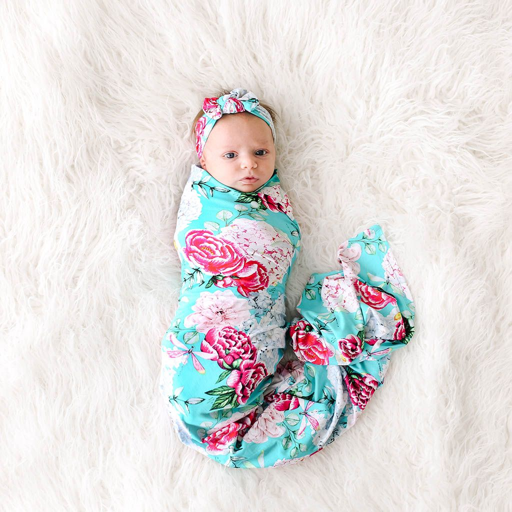 Posh Peanut Eloise Swaddle & Headband Set