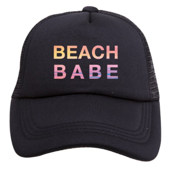 Tiny Trucker Hat - Beach Babe