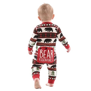 Bear Essentials Flapjack Baby Pajama